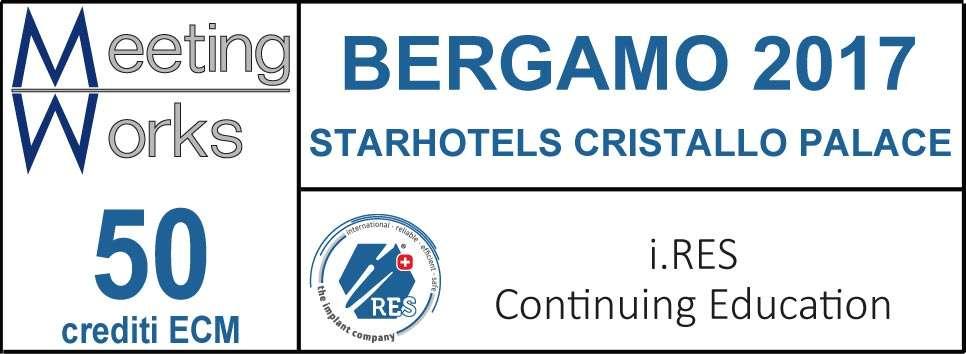 INCONTRI CULTURALI i.RES BERGAMO 2017