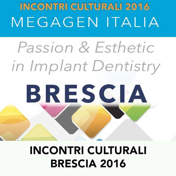 INCONTRI CULTURALI BRESCIA 2016