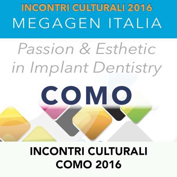 INCONTRI CULTURALI COMO 2016