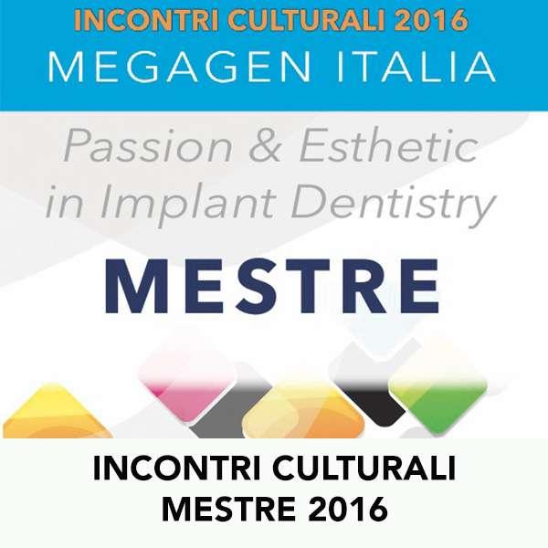 INCONTRI CULTURALI MESTRE 2016