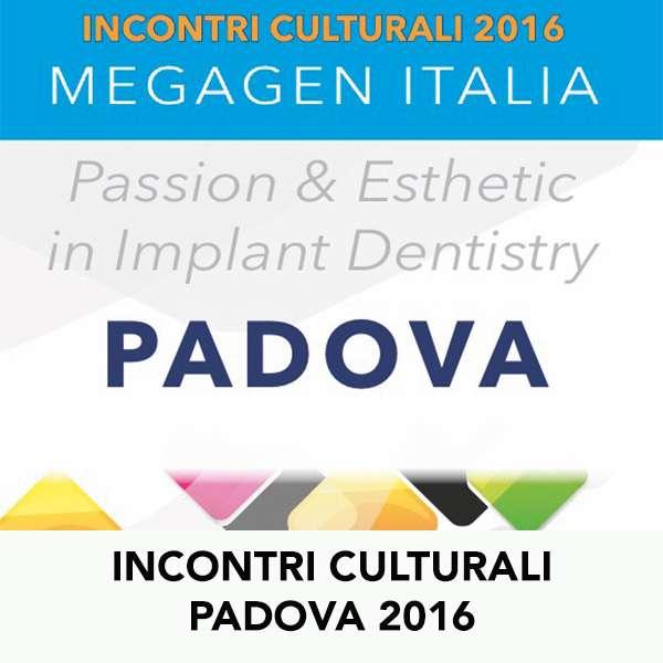 INCONTRI CULTURALI PADOVA 2016