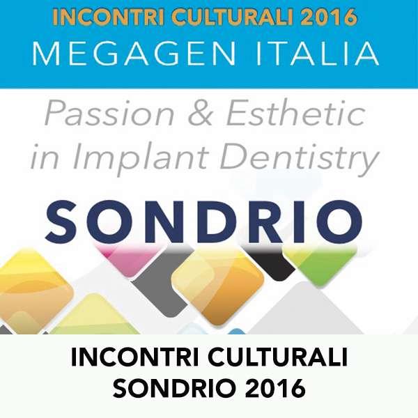 INCONTRI CULTURALI SONDRIO 2016