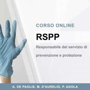RSPP – RESPONSABILE DEL SERVIZIO DI PREVENZIONE E PROTEZIONE SUL LAVORO